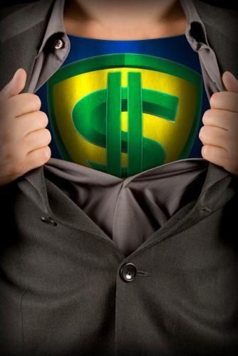 money-superhero